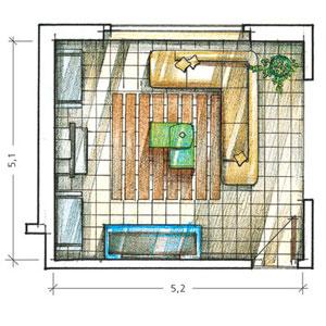 Сделай дизайн комнаты сам